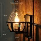 Starodávne nástenné svietidlo v tvare sviečky1