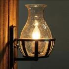 Starodávne nástenné svietidlo v tvare sviečky3