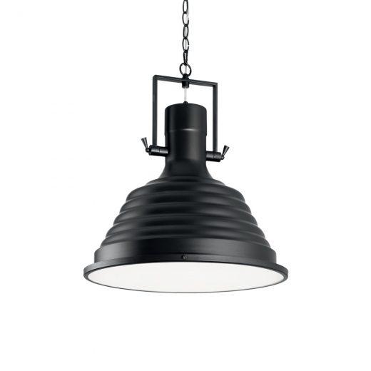 Vintage závesné svietidlo v čiernej farbe
