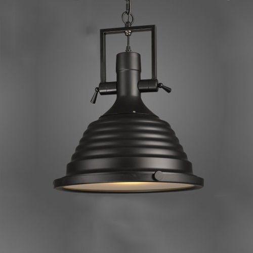 Vintage závesné svietidlo v čiernej farbe, 50 x 40 cm