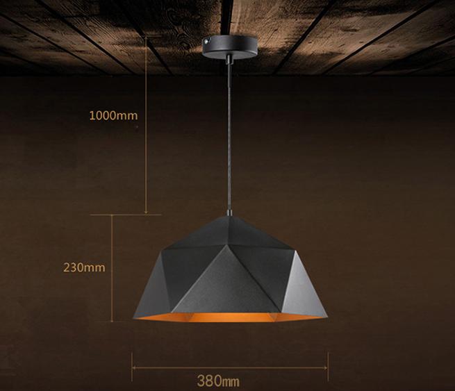 Svietidlo je vyrobené na žiarovky s päticami E27,