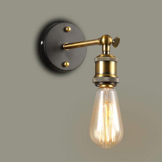 Historické nástenné svietidlo Vintage (2)