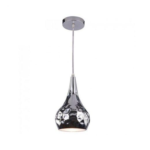 Chrómové závesné svietidlo je štýlové svietidlo s chrómovou lesklou úpravou. Chrómové závesné svietidlo je vhodné ako okrasné svietidlo