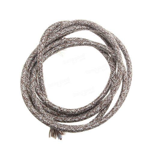 Kábel dvojžilový v podobe textilnej šnúry. Predstavujeme vám nádherné textilné vodiče v rôznych farbách a vzoroch.