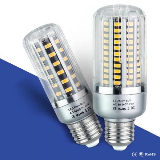 LED žiarovky SMD 5736sú najúspornejším typom žiaroviek päticeE27. Dokážu nahradiťhalogénovú alebo klasickú žiarovku