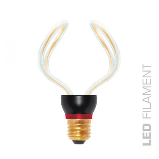 Umelecká LED ART žiarovka - GLOBO, E27, 12W, 2200K, 350lm