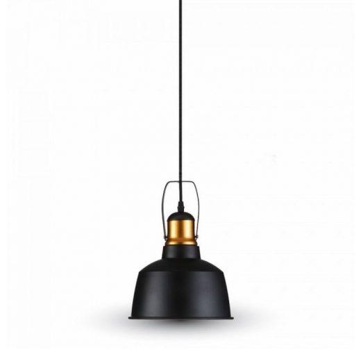 Hliníkové historické svietidlo závesné, čierna farba. Historické závesné svietidlá sú dnes zárukou obdivu v každej domácnosti