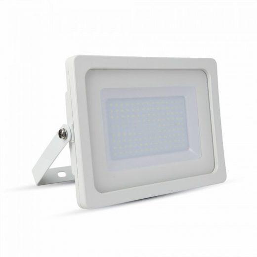 100W LED Reflektor, biela farba, Studená biela, 6400K, 8500lm