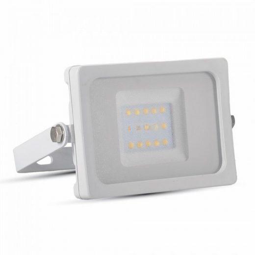 10W LED Reflektor, biela farba, Teplá biela, 3000K, 800lm