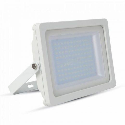 150W LED Reflektor, biela farba, Studená biela, 6400K, 12750lm. Led reflektorysa používajú ma osvetlenie otvorených priestorov, akými sú parkoviská, haly, stavby, obchody, výklady a pod