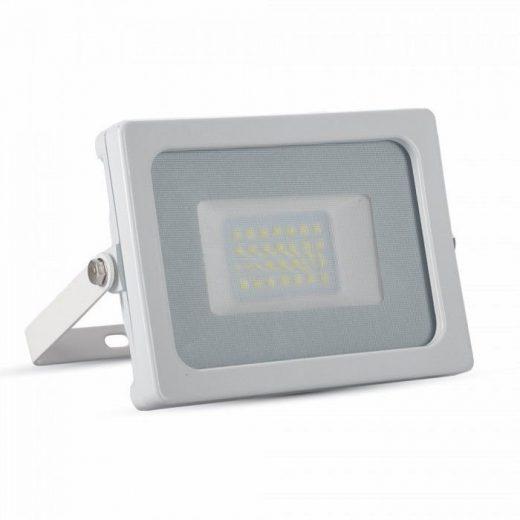 20W LED Reflektor, biela farba, Studená biela, 6400K, 1600lm