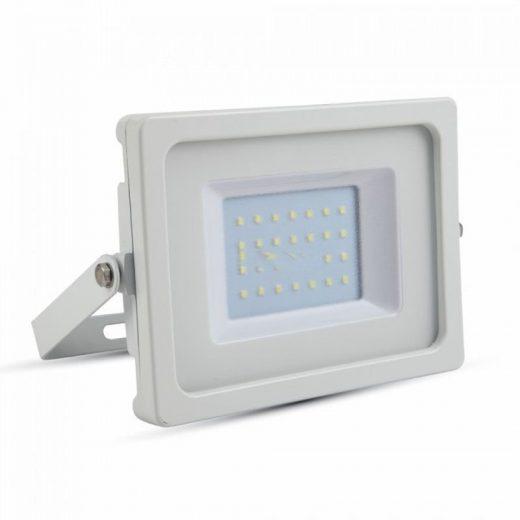 30W LED Reflektor, biela farba, Teplá biela, 3000K, 2550lm