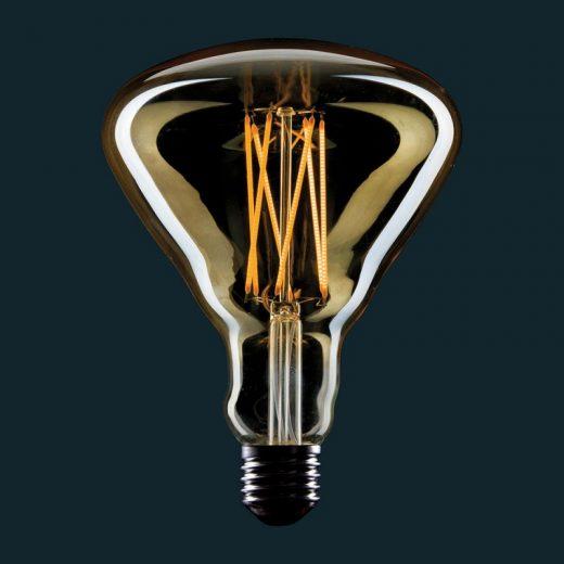 Edison Soft žiarovka, Square, E27, 360lm, 4W, Teplá biela, stmievateľná (2)