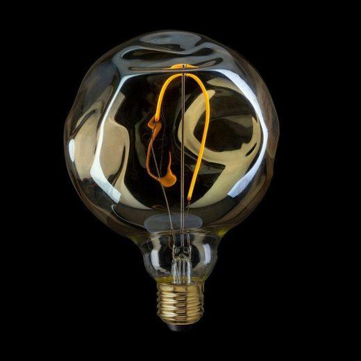 Edison Soft žiarovka GLOBE, E27, 70lm, 2.5W, Teplá biela, stmievateľná (1)