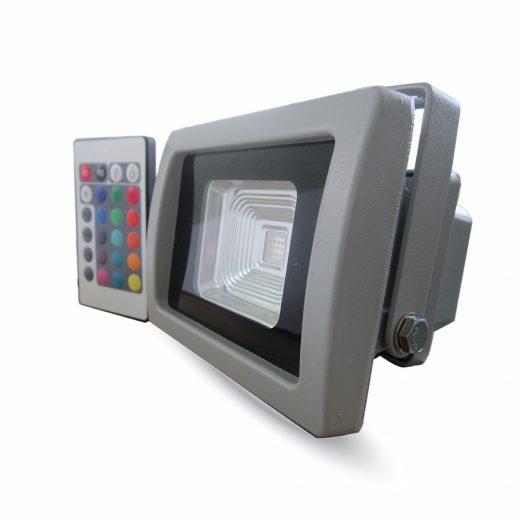 LED RGB Reflektor 10W s IR diaľkovým ovládaním (1)