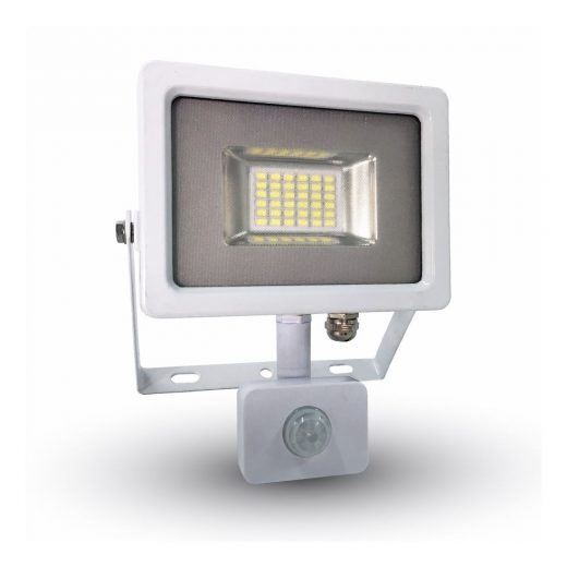 LED reflektor so senzorom- 20Ws výkonom 20 Wattov