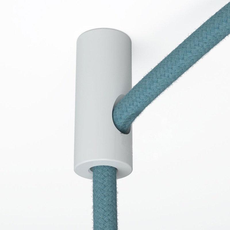 Stropný decentralizér - háčik pre textilné káble v bielej farbe (1)