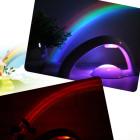 Úžasný dúhový projektor, kreatívne nočné dekoračné osvetlenie (4)
