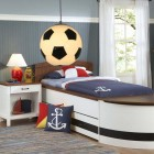 Detské závesné svietidlo v tvare futbalovej lopty (1)