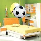 Detské závesné svietidlo v tvare futbalovej lopty (3)