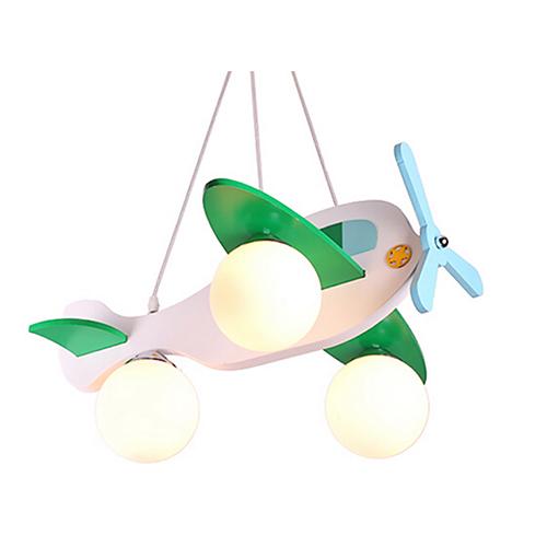 Detské závesné svietidlo z dreveného materiálu v bielej farbe (1)