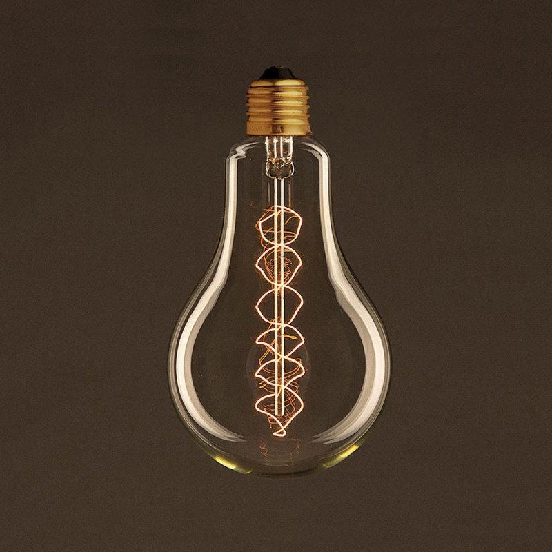 EDISON žiarovka - DECOR SPIRAL DROP - E27, 30W, 60lm (2)