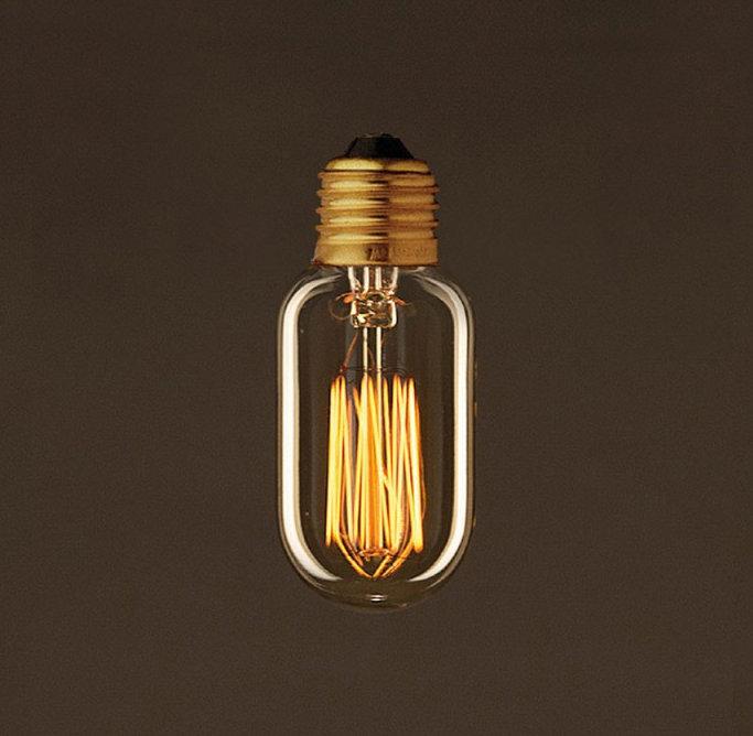 EDISON žiarovka - TUNNEL - E27, 30W, 60lm (2)