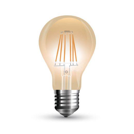 FILAMENT žiarovka - Gold Classic - E27, 10W, 900lm, Teplá biela