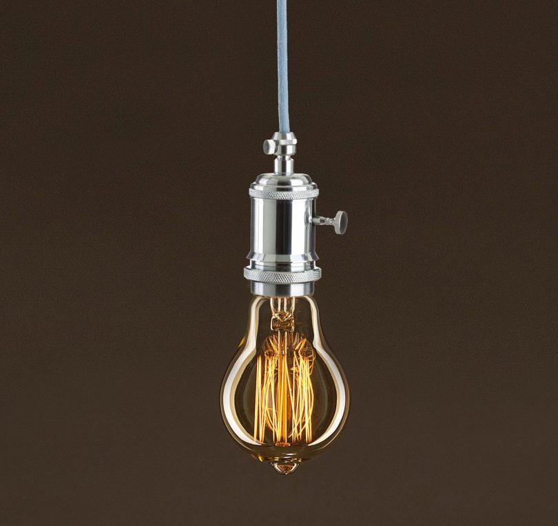 EDISON žiarovka - CLASSIC E. Dekoratívna žiarovka s uhlíkovým vláknom má klasický tvar gule s dekoračným uhlíkovým vláknom (2)