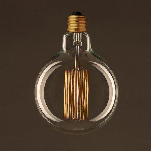 EDISON žiarovka - CLASSIC GLOBUS - E27, 30W, 60lm (1)
