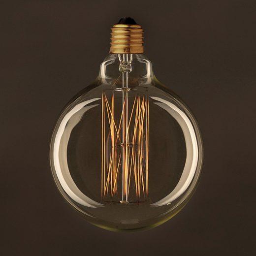 EDISON žiarovka - GLOBUS - E27, 30W, 60lm (1)