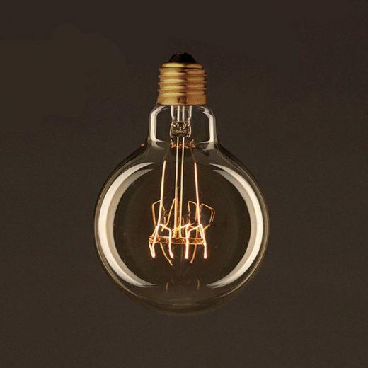 EDISON žiarovka - NEW GLOBUS- E27, 30W, 60lm