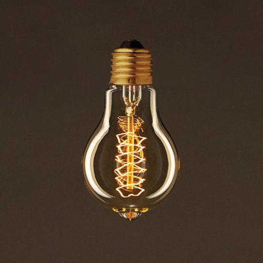 EDISON žiarovka - SPIRAL B - E27, 30W. Ideálna pre salóniky (2)