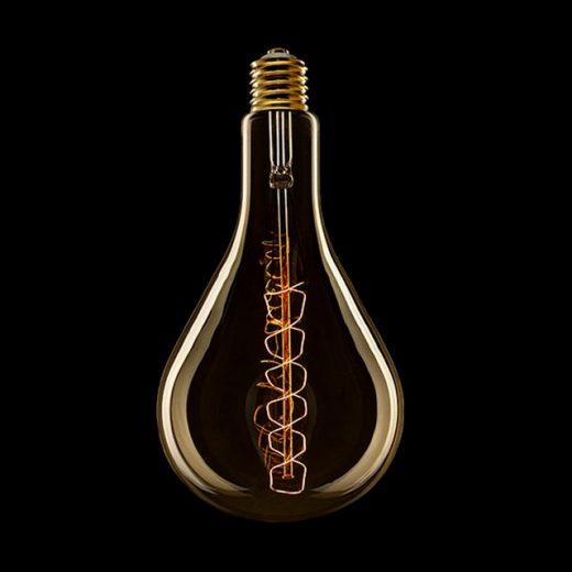 EDISON žiarovka - XXL SPIRAL - E27, 60W, 60lm (2)