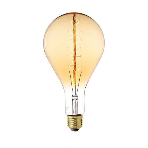EDISON žiarovka – XXL SPIRAL – E27, 25W, 60lm
