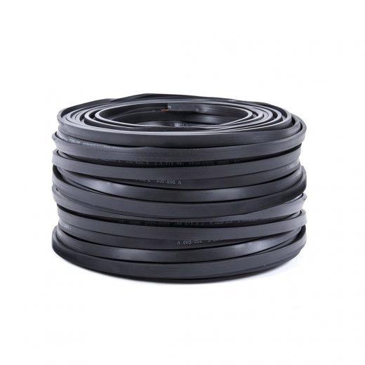 PVC elektrický kábel pre Svetelné šnúry v čiernej farbe, 5mm, IP44, 10 metrov (1)