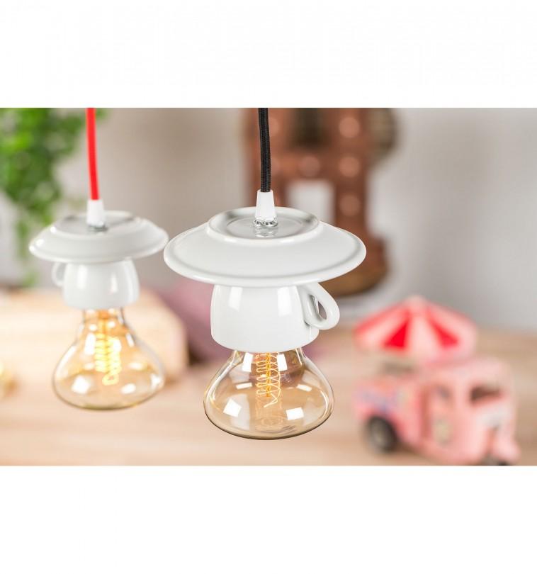 Porcelánové dizajnové svietidlo v tvare šálky (3)