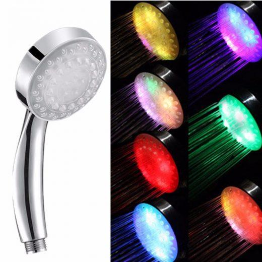 Automatická-7LED-farebná-sprchová-hlavica