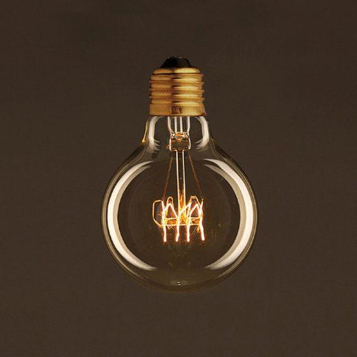 EDISON žiarovka - SHINES - E27, 30W, 60lm (1)