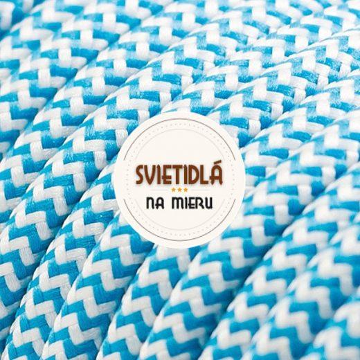 Kábel-dvojžilový-v-podobe-textilnej-šnúry-so-vzorom-BlueWhite-2-x-0.75mm-1-meter-1