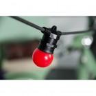 LED Dekoratívna žiarovka pre svetelné šnúry a reťaze, E27, 1W, Červená farba (4)