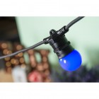 LED Dekoratívna žiarovka pre svetelné šnúry a reťaze, E27, 1W, Modrá farba (4)