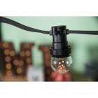 LED Dekoratívna žiarovka pre svetelné šnúry a reťaze, E27, 1W, Transparentná (4)