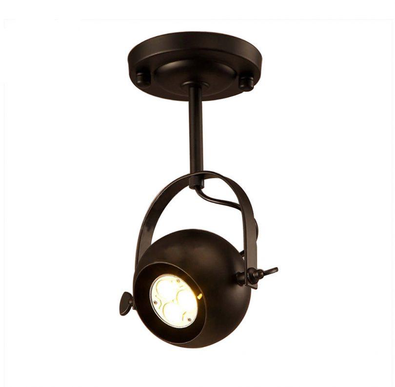 Reflektorové historické svietidlo na bodovú žiarovku GU10 (1)
