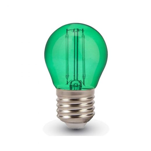 FILAMENT žiarovka - LITTLE - E27, Zelená, 4W, 60lm, V-TAC