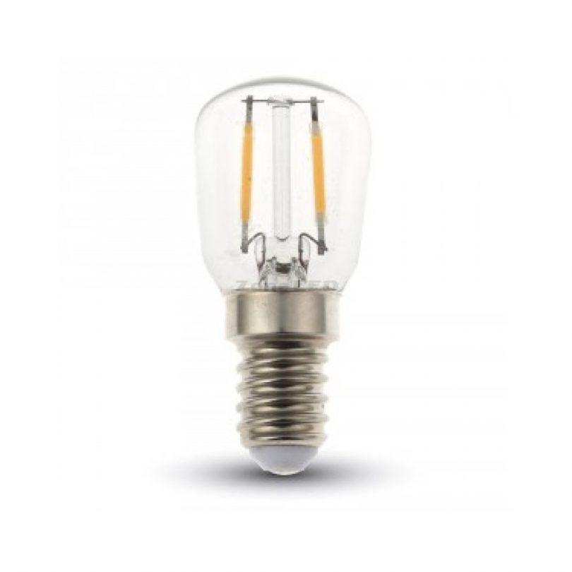 FILAMENT žiarovka - SMALL - E14, Teplá biela, 2W, 180lm, V-TAC