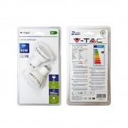 LED žiarovka GU10, 6W, Studená biela, 500lm, zvýhodnené balenie 2ks (1)