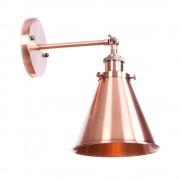 Retro nástenné svietidlo Home v medenej farbe (1)