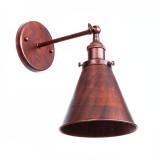 Retro nástenné svietidlo Home v staro medenej farbe (1)
