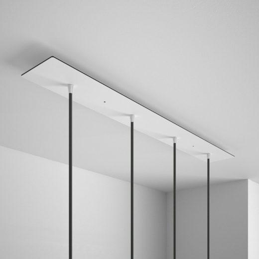 Obdĺžniková-stropná-rozeta-90-x-12-cm-so-4-otvormi-kovová-biela-farba-3